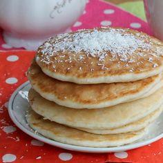 Pancakes al cocco