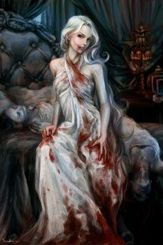 "Revised Vampire (""classic"" i. no energy drain) Fantasy Girl, Gothic Fantasy Art, Fantasy Princess, Fantasy Artwork, Vampire Love, Female Vampire, Vampire Girls, Vampire Art, Gothic Vampire"
