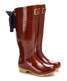 Look at this Red Evedon Welly Rain Boot - Women on #zulily today!