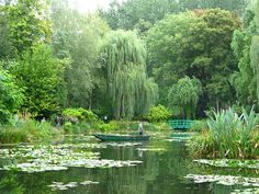 Giverny is a riverside rural idyll located on the borders of Normandy which is most famous for being the birthplace of impressionism, France