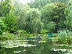 Giverny, France...Monet's garden