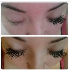Lashes for days! Does your mascara do this? Get your 3D Fiber Lashes mascara at youniquebyminacouture.com any questions let me know  XOXO