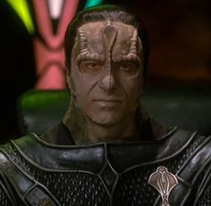 Damar; played by Casey Biggs  (Star Trek Deep Space Nine) - Not a total villain; but also not a favorite character. Damar turned out to be an unexpected hero.