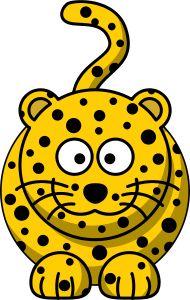 Cartoon leopard by Cartoon leopard. Remixed from Lemmling's Cartoon Giraffe (color) and Cartoon Cat. Jungle Cat, Jungle Animals, Cartoon Giraffe, Cute Cartoon, Giraffe Colors, Baby Cheetahs, Leopard Face, Leopard Spots, Baby Clip Art