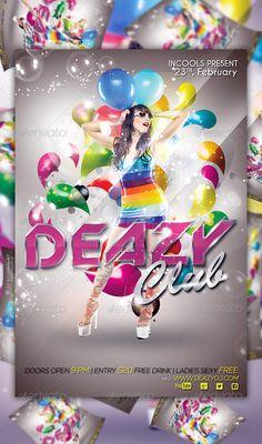 Deazy Club Flyer Template