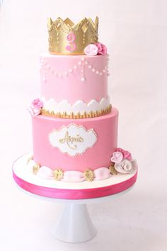 Princess Aurora cake                                                                                                                                                      More
