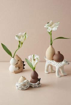Animal Inspired Vases #anthropologie #homedecor #anthrohome #ad