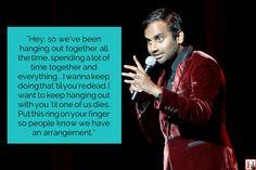 9 Hilarious Aziz Ansari Jokes That Prove He Just Gets Us