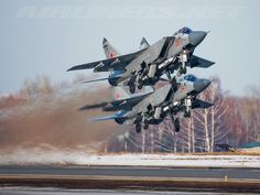 Mikoyan-Gurevich MiG-31BSM - Russia - Air Force | Aviation Photo #2836199 | Airliners.net