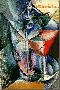"""♥️ """"Glass and Syphon"""" 1913 Umberto Boccioni,One of the principal figures of the Futurism art movement Italian Painters, Italian Artist, Umberto Boccioni, Italian Futurism, Futurism Art, Art Gallery, Still Life Art, A4 Poster, Vintage Artwork"""