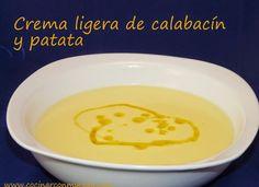 Crema ligeta de calabacín y patata para #Mycook http://www.mycook.es/cocina/receta/crema-ligeta-de-calabacin-y-patata