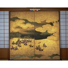 Hunting Tartars, Kano School, Kyoto National Museum.
