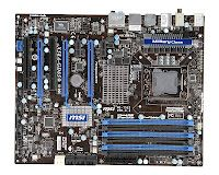 MSI X58A-GD65 Motherboard