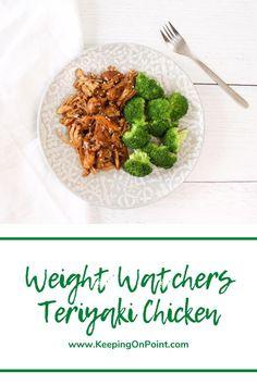 Poulet Weight Watchers, Plats Weight Watchers, Weight Watchers Chicken, Weight Watchers Meals, Ww Recipes, Asian Recipes, Healthy Recipes, Healthy Meals, Skinny Recipes