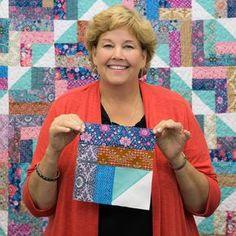 The Summer Camp Quilt is just waiting for you to make it! Learn from Jenny as she shows us how!