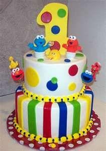 Sesame Street Birthday Party | Kids Birthday Cakes