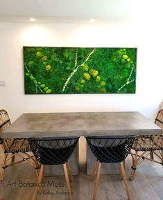 Home Design Drawings Fine Moss Crystal Art by Art Botanica - Name Wall Decor, Family Wall Decor, Canvas Wall Decor, Wall Art Decor, Wall Decorations, Kitchen Canvas, Kitchen Wall Art, Quirky Kitchen, Kitchen Ideas