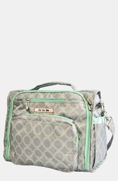 Ju-Ju-Be 'BFF' Diaper Bag available at #Nordstrom. Love this in the Licorice Twirl fabric.