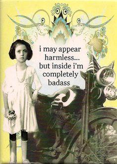badass... @Lisa Phillips-Barton Phillips-Barton Reddick  :)