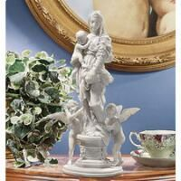 Madonna of the Harpies Bonded Marble Statue