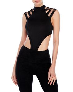 """Check out """"Bodysuit with Side Cutouts"""" from Century 21"""