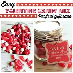 For a really simple, but super sweet gift to give your friends or significant other, make a Valentine candy mix! Buy some M&Ms, Cinnamon Lips, Sour Cherry Balls, and Hot Tamales, and mix them all together. Make the gift stand out by storing the mix in a little mason jar decorated with a cute tag and some pink or red ribbon. Visit eBay to read up on this simply sweet gift idea for Valentine's Day!