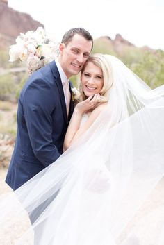Jamie & Louis // Arizona Wedding // Donna Morgan Collection // Bridesmaid Dresses in Chantilly // Amy and Jordan Photography//
