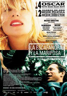 La escafandra y la mariposa (2007) Francia. Dir: Julian Schnabel. Drama. Baseado en feitos reais. Enfermidade - DVD CINE 1130