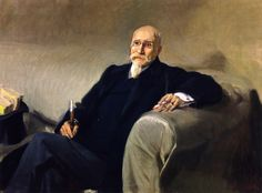 Joaquín Sorolla - Retrato de José Echegaray #2 (1905)