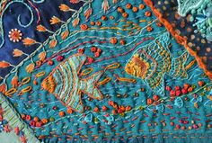 Very nice embroidered fish