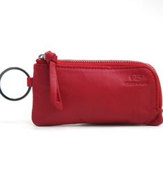 This soft little mini zippered case is made with genuine leather material and has 2 key chain loops: 1 outside, 1 inside. Use this mini case to carry coins, lip gloss, gum, make-up/touch up essentials, etc. Carry whatever it is that a girl needs in the palm of her hands in this safe, durable, and cute little soft case! – Approx. Dimension: 5″W x 2″H x .25″D – Suggested Price on Retail Tag: $39.99Material: Genuine Leather | Shop this product here: http://spreesy.com/LadybugHouseGiftsandBags/1…
