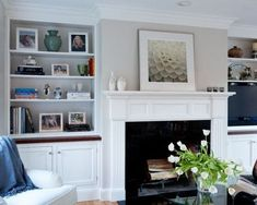 Simple Tricks Can Change Your Life: Small Living Room Remodel Breakfast Bars living room remodel with fireplace ship lap.Living Room Remodel On A Budget Butcher Blocks livingroom remodel tips.Living Room Remodel Before And After Islands. Living Room Built In Cabinets, Living Room Built Ins, Living Room Decor On A Budget, Living Room Remodel, Living Room With Fireplace, My Living Room, Home And Living, Living Room Designs, Small Living