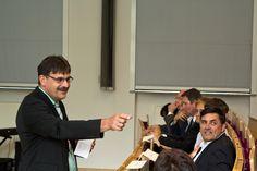 Grußworte von Ralf Berger, Leiter der Regionalstelle der Sächsischen Bildungsagentur - ohne die die JIA nicht möglich wäre