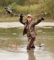 NorCal Cazadora: Finally! A women's waterfowl hunting line without pink