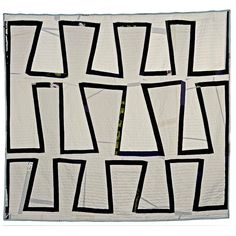 SNAKE TRAIL, one of a kind, hand made quilt by Sarah Nishiura