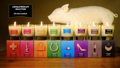 aromatheraphy solution candles
