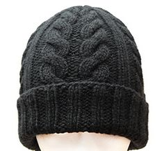 JULIEN - Men's Spike Cable Hat by Christiane Klink