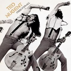 Ted Nugent, Free-For-All (1976): The Motor-City Motor-Mouth turns in another decent effort in his 70s heydey with a little help from the vocally fantastic Meat Loaf. But for me, it's really Ted's vocal performance on the title track that is the shining gem of this set. At the very least, it propels this to a song score of 2.9, which isn't much, but it's better than nothing, kinda like Ted himself. 8/25/16
