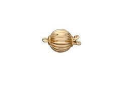 Corrugated Ball Bead Clasp 7mm