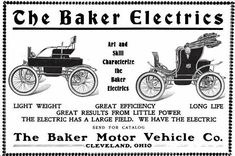 1000 Images About Baker Electric Car Ads On Pinterest