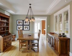 Best Ways to Use the Neutral Green Color of 2015 Benjamin Moore's Color of the Year is soft and natural: Guilford Green