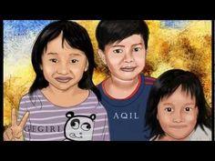 Tutorial Cara melukis potret digital - YouTube
