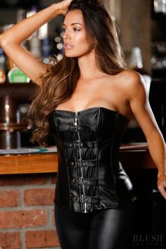 69110bfbbfbbe Leather Corset Leather Lingerie
