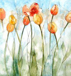 The Incredible Watercolor Paintings of Dmitriy Rebus Larin