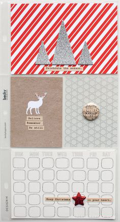 i like the deer tag. december daily 2014