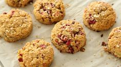 Gluten Free Cranberry Quinoa Scones - Cannelle et Vanille blogger Aran Goyaga joins Sarah Carey in the kitchen to make these tender and tart gluten free scones.