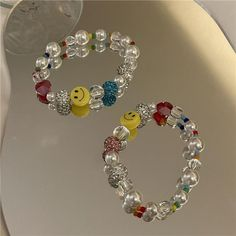 Smiley, Charm Jewelry, Bracelets, Gifts, Fun, Accessories, Presents, Favors, Bracelet