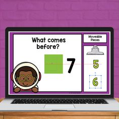 Practice numbers that come before and after within 10 with this set of 20 Google Slides™. Students will drag and drop a moveable number to show what number comes before or after. This is perfect for distance learning and easy enough for parents to follow along. Simply assign the slides through your Google Classroom™.  This set does have a Halloween theme.
