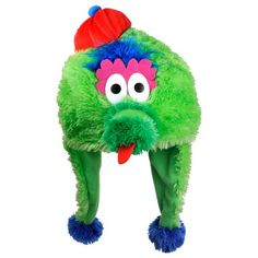 Philadelphia Phillies Mascot Dangle Hat OMG I want one! 68537c362