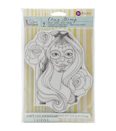 Prima Marketing Catrina Bloom Cling Rubber Stamps, 8 x - breaker how to get Prima Marketing, Arts And Crafts, Paper Crafts, People Shopping, Joanns Fabric And Crafts, Drawing Reference, Scrapbooks, Craft Stores, Gift Tags